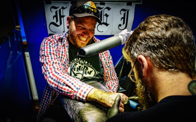 Stockholm Inkbash Tattoo Convention 2015
