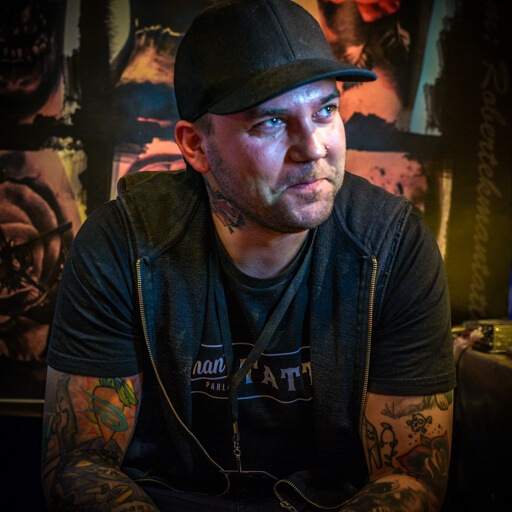 Tattoocyn Pro-Team Member - Robert Ekman