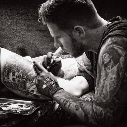 Tattoocyn Pro-Team Member - Tamás Kőbán