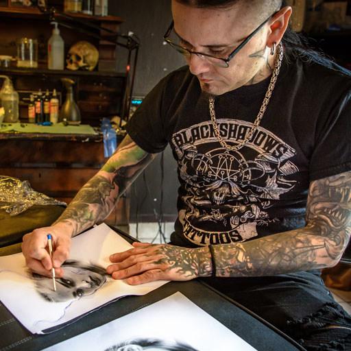 Tattoocyn Pro-Team Member - Carlos Aguilar